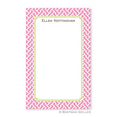 Stella Pink Notepad