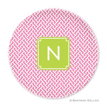 Stella Pink Personalized Plate