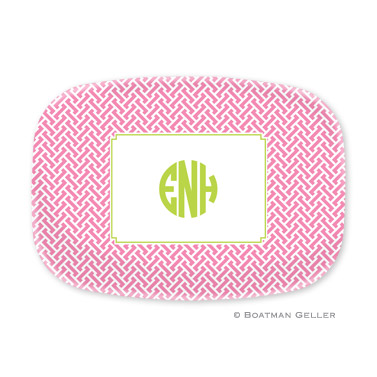 Stella Pink Personalized Platter