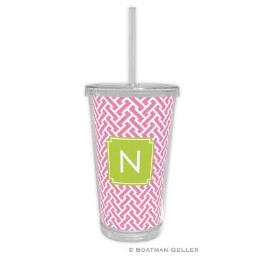 Stella Pink Beverage Tumbler