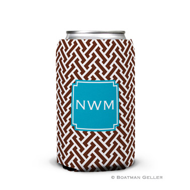 Stella Turquoise Can Koozie