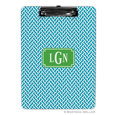 Stella Turquoise Clipboard