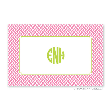 Stella Pink Personalized Placemat