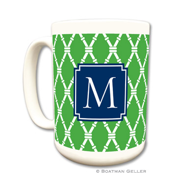 Bamboo Kelly Mug by Boatman Geller
