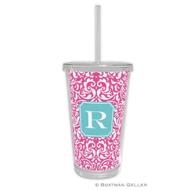 Chloe Raspberry Beverage Tumbler