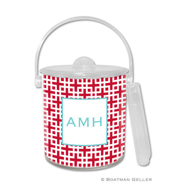Lattice Cherry Ice Bucket