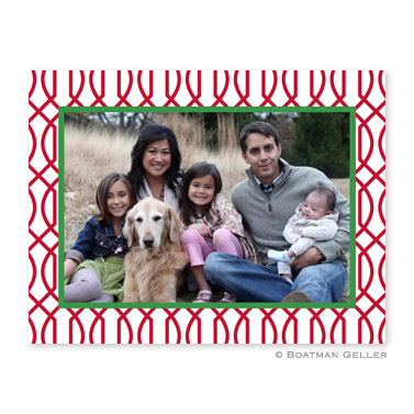 Trellis Folded Photocard