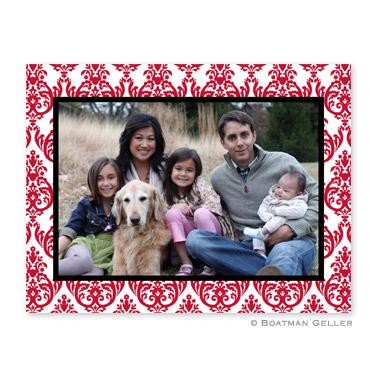 Madison Damask Reverse Folded Photocard