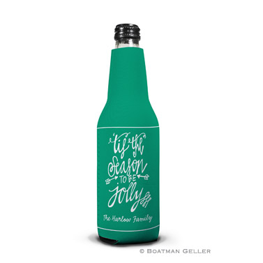 Tis the Season Holiday Koozie Bottle