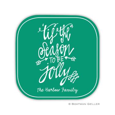 Tis the Season Holiday Coaster - set of 4