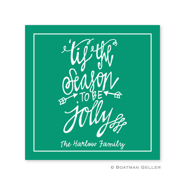 Tis the Season Holiday Paper Coasters
