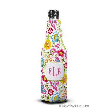 Bright Floral Bottle Koozie