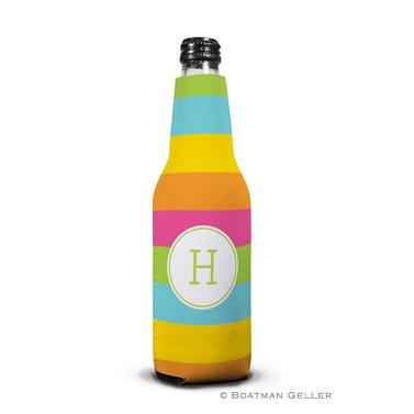 Bold Stripe Bottle Koozie