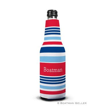Espadrille Nautical Bottle Koozie