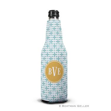 Lattice Slate Bottle Koozie