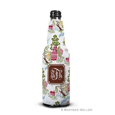 Chinoiserie Autumn Bottle Koozie