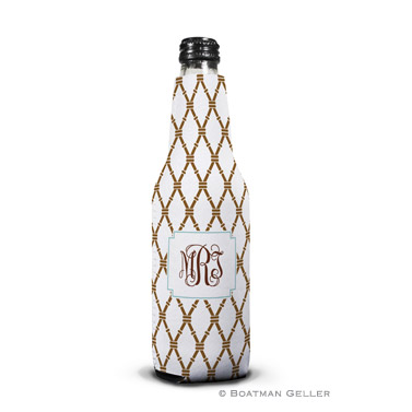 Bamboo Brown & Slate Bottle Koozie