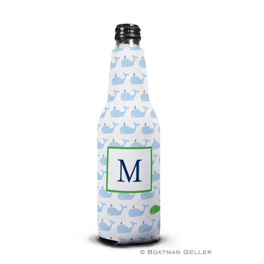 Whale Repeat  Bottle Koozie