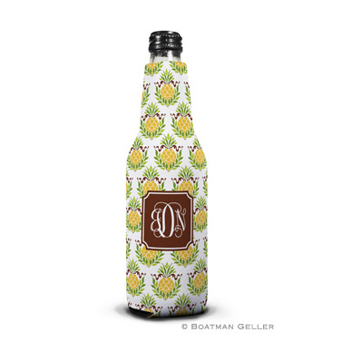 Pineapple Repeat Bottle Koozie