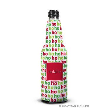 Ho Ho Ho Holiday Koozie Bottle