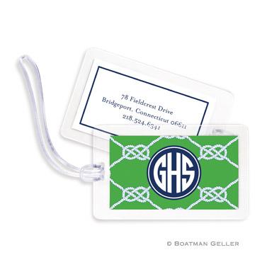 Nautical Knot Kelly Bag Tag