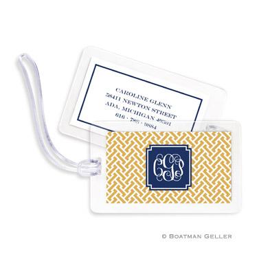 Stella Gold Bag Tag