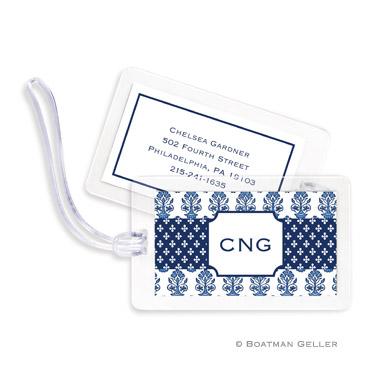Beti Navy Bag Tag