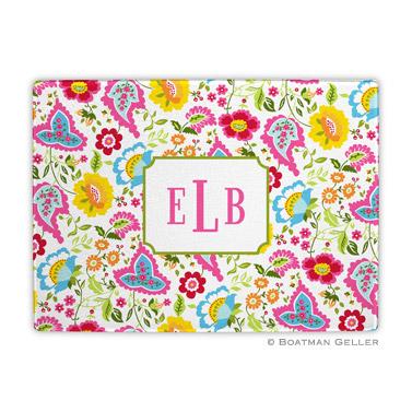 Bright Floral Cutting Board