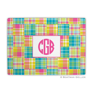 Madras Patch Bright Cutting Board