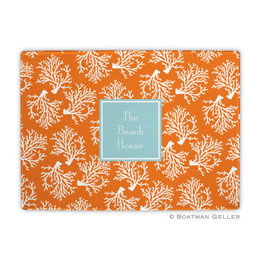 Coral Repeat Cutting Board