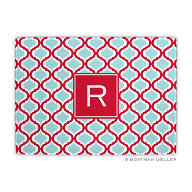 Kate Red & Teal Cutting Board