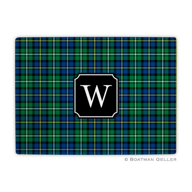 Black Watch Plaid Holiday Cutting Board