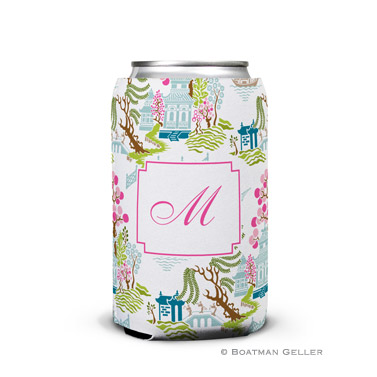 Chinoiserie Spring Can Koozie