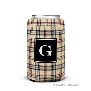 Town Plaid Can Koozie