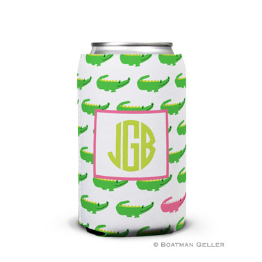 Alligator Repeat Can Koozie
