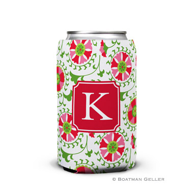 Suzani Holiday Koozie Can
