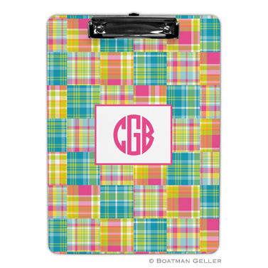 Madras Patch Bright Clipboard