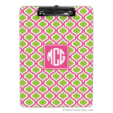 Kate Raspberry & Lime Clipboard