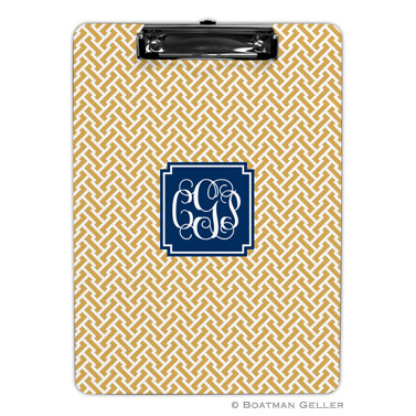 Stella Gold Clipboard