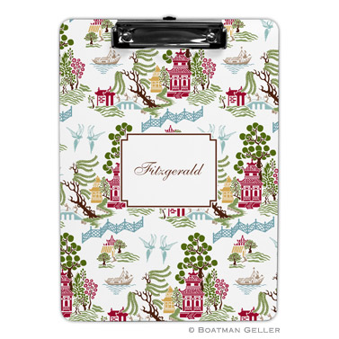 Chinoiserie Autumn Clipboard