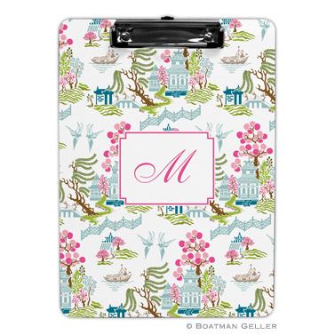 Chinoiserie Spring Clipboard