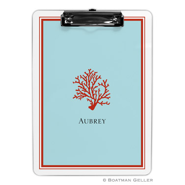 Coral Clipboard by Boatman Geller