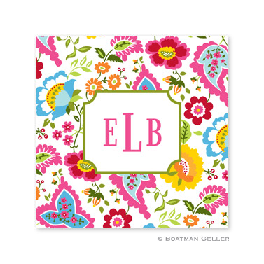 Bright Floral Coasters