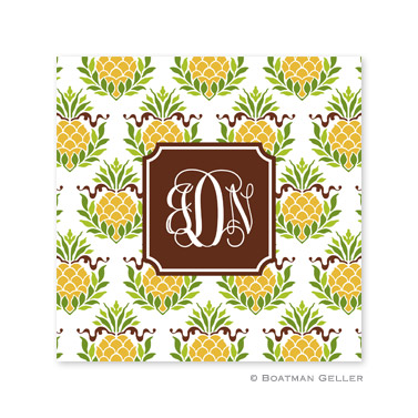Pineapple Repeat Coasters by Boatman Geller
