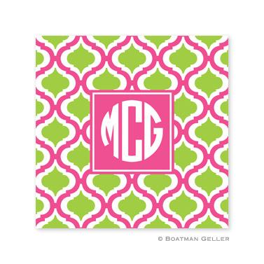 Kate Raspberry & Lime Coasters