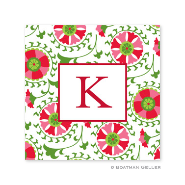 Suzani Holiday Paper Coasters