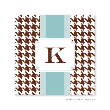 Alex Houndstooth Chocolate Coasters