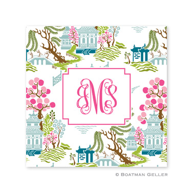 Chinoiserie Spring Coasters