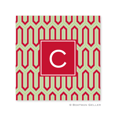 Blaine Cherry Holiday Paper Coasters