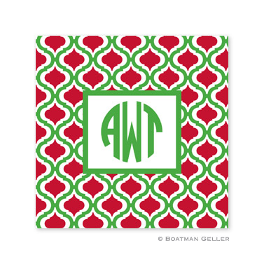 Kate Kelly & Red Holiday Paper Coasters